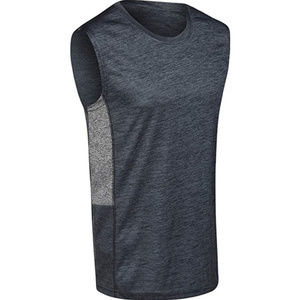 Dry-Fit Active Sleeveless Tank Slate/Gray L